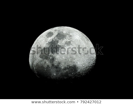 Solar System - Earths Moon. The Moon is Earth's only natural sat Stock photo © NASA_images