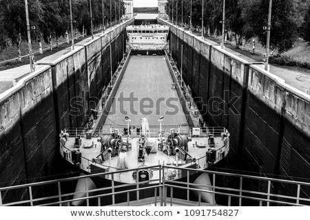 белый канал Россия воды природы Сток-фото © borisb17