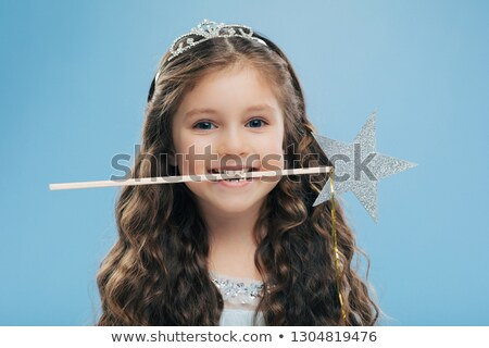 Horizontal tiro atractivo sonriendo pequeño nino Foto stock © vkstudio
