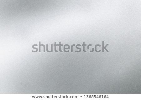 çelik plaka ışık kazıyın yansıma malzeme Stok fotoğraf © Ansonstock
