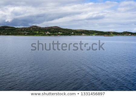 landscape of southern vestlandet norway stock photo © phbcz
