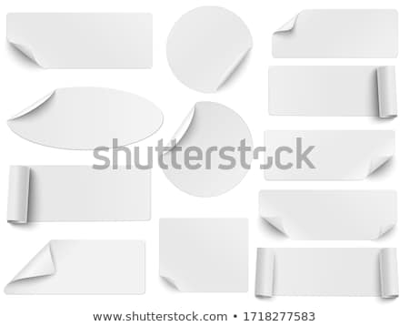 Rectangle labels Stock photo © orson