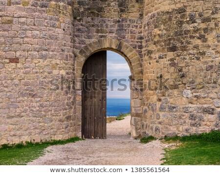 руин · замок · Испания · зданий · архитектура · история - Сток-фото © nobilior