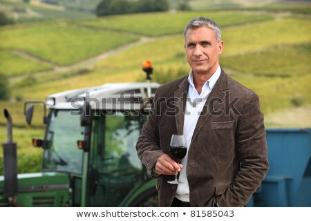 trattore · agricoltura · campo · tecnologia · industria - foto d'archivio © photography33
