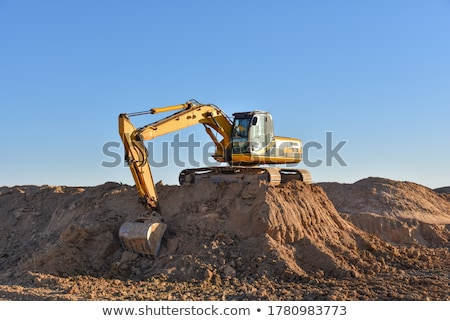 quarry digger Stock photo © prill