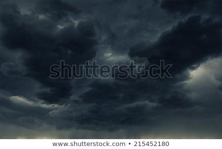 Nuages d'orage ciel pluie nuage Photo stock © skylight