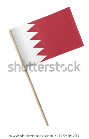 Miniature Flag of Bahrain (Isolated) Stock photo © bosphorus