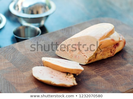 slice of goose liver Stock photo © M-studio