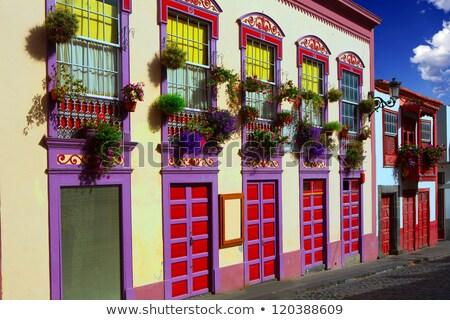Stock photo: Santa Cruz de La Palma in Atlantic Canary islands