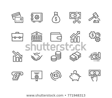 налоговых Бар человек карта черный Сток-фото © 4designersart