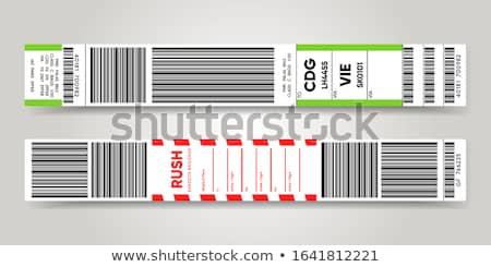 Légitársaság 3D kéz táska repülés repülőgép Stock fotó © 4designersart