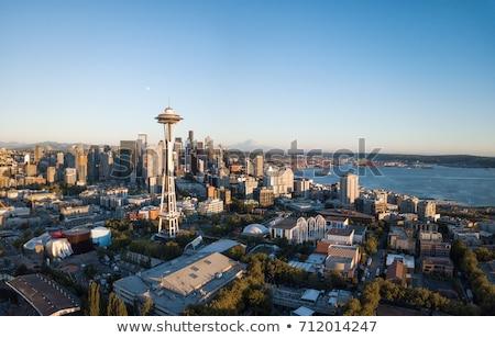 Widoku centrum Seattle Waszyngton Zdjęcia stock © 33ft