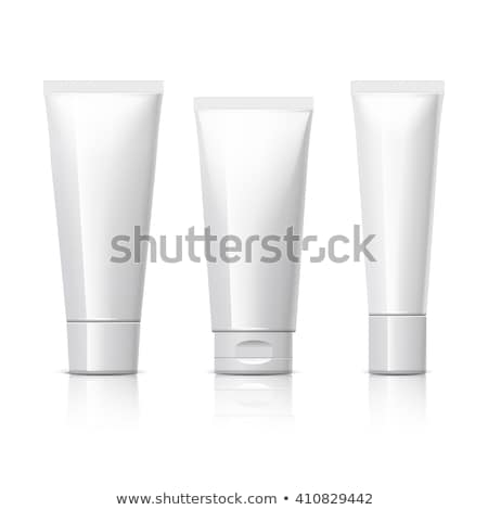 cosmetici · igiene · bianco · grigio · cromo · plastica - foto d'archivio © ozaiachin