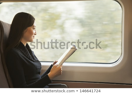 mozog · vonat · gyors · ódivatú · nyár · üzlet - stock fotó © courtyardpix