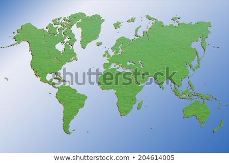 EUA · 3D · mapa · comunicação · rede · tecnologia - foto stock © lightsource