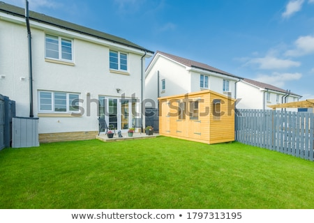 Landscaped garden Stock photo © trgowanlock