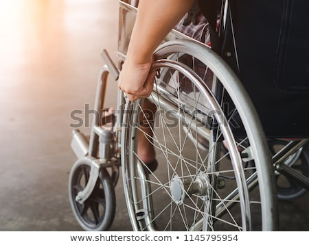 Office wheel chair detail Stock photo © ABBPhoto