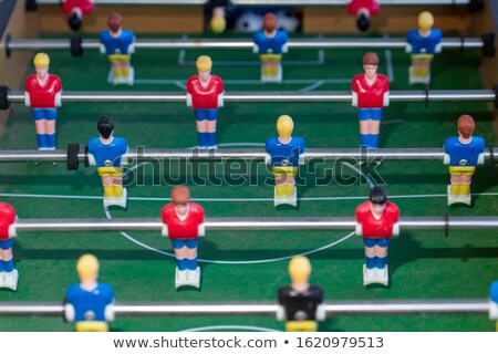 aged table football player macro detail Stock photo © lunamarina