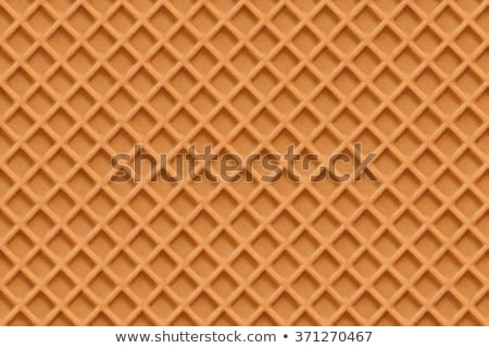 Crisp waffles pattern seamless texture Stock photo © LoopAll
