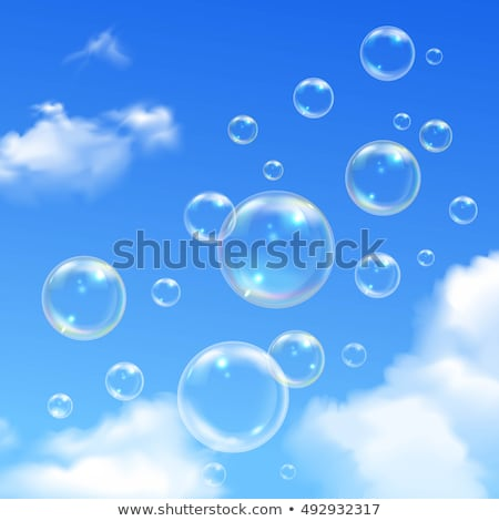 bubbles in sky stock photo © zzve