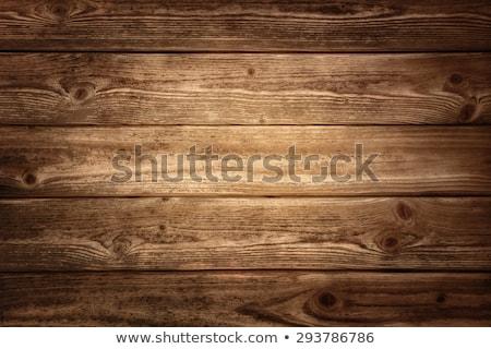 Vignetted Dark Wood Plank Background Stock photo © frannyanne