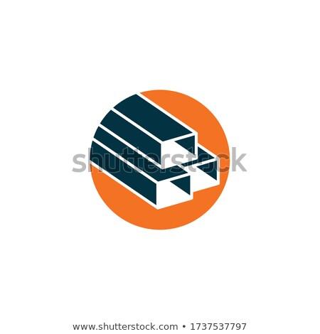 réseau · graphe · d'affaires · isolé · blanche · affaires · bleu - photo stock © cherezoff