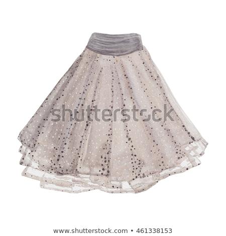 美少女 ドレス 美人 スカート グレー セックス ストックフォト © fotorobs