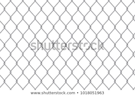 fém · lánc · fehér · 3d · illusztráció · keret · ipar - stock fotó © shawlinmohd