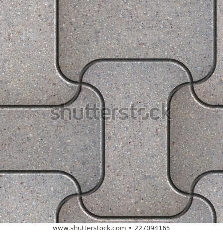 Enlarged Fragment Grey Slabs. Stock photo © tashatuvango