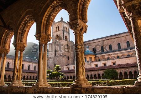 katedry · sycylia · świetle · malarstwo · wnętrza · historii - zdjęcia stock © Dserra1