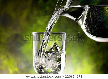 Mineral water in waterfalls Stock photo © tilo