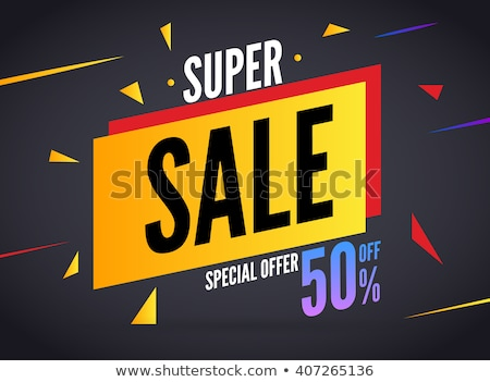 Big Offer Blue Vector Icon Button Stock photo © rizwanali3d