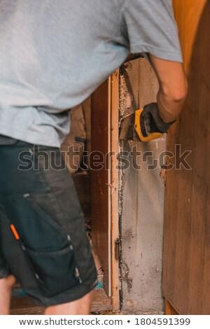 人 · ドア · オープンドア · ビジネス · 実例 · 男 - ストックフォト © voysla