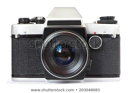 古い 反射 カメラ 映画 孤立した 白 ストックフォト © vtls