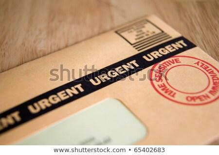 Сток-фото: поздно · срочный · почты · изображение · человека · грузовика