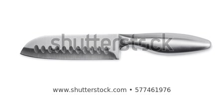 Large modern chef's knife Stock photo © michaklootwijk