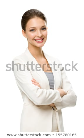 beautiful young woman in brown body suit stock photo © svetography