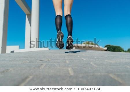 詳細 脚 女性 ランナー 道路 ジョグ ストックフォト © lightpoet