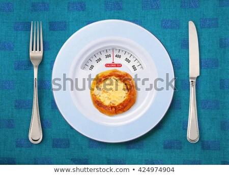 calorie tot of pancake Stock photo © ssuaphoto