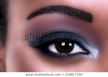 Open buio blu mascara bianco Foto d'archivio © filipw