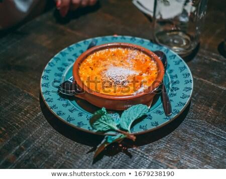 sobremesas · branco · comida · morango · fresco · doce - foto stock © monkey_business