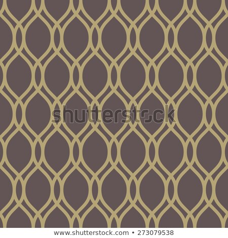 Seamless brown and golden colors vertical lines pattern. Stock photo © latent