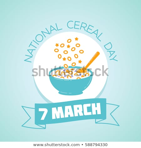 7 March  National Cereal Day Stock photo © Olena