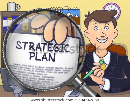 スパム · 管理 · いたずら書き · ハンサム · ビジネスマン - ストックフォト © tashatuvango