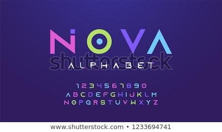 alfabeto · lettere · numeri · istruzione · lettera · scrivere - foto d'archivio © timurock