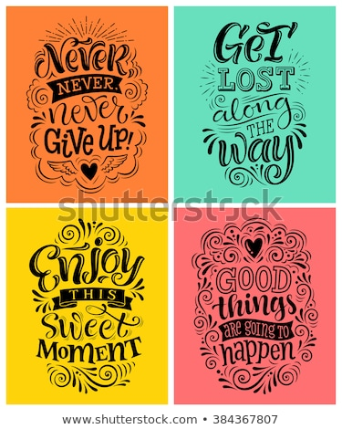 design and typography background Stock photo © orson