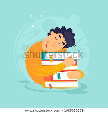 漫画 教科書 抱擁 実例 準備 与える ストックフォト © cthoman