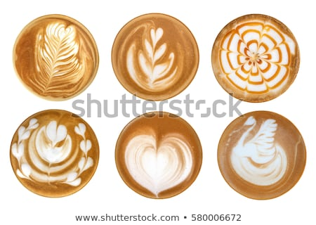 coffee latte art set stock photo © grafvision