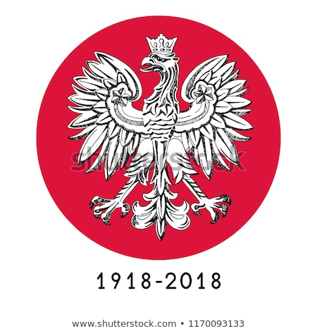 Illustratie Polen tekst 100 jaren hand Stockfoto © Arkadivna