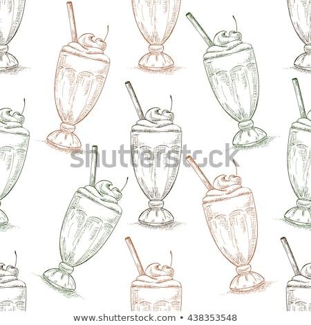 klasszikus · végtelen · minta · étterem · kávézó · menü · terv - stock fotó © netkov1